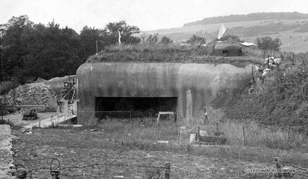 casemate de Wittring 1940